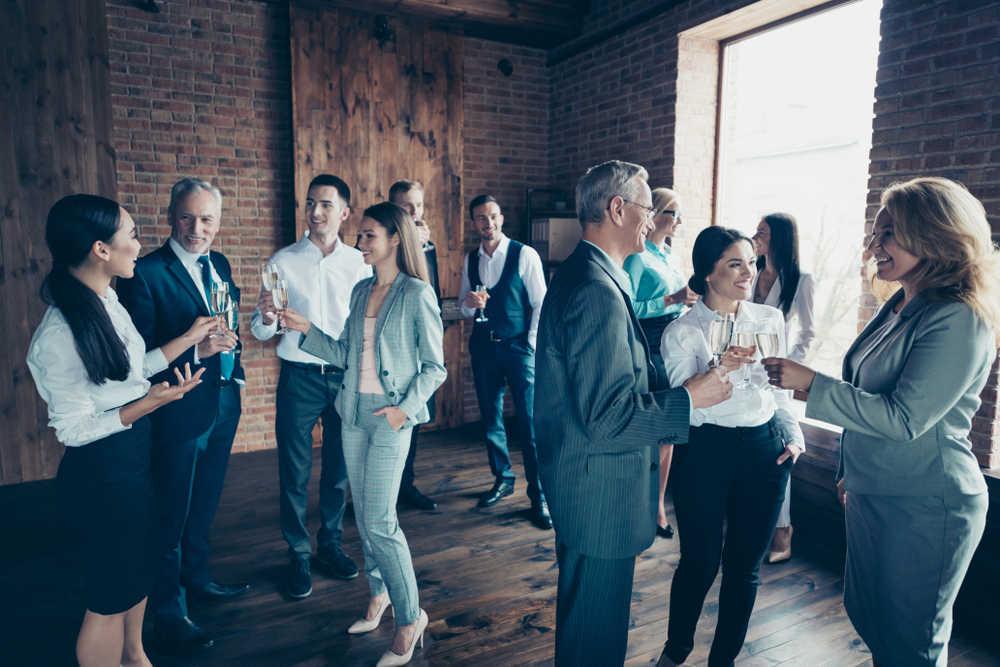 Las celebraciones de empresa, cada vez más comunes